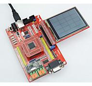 placa de desenvolvimento MSP430 tela colorida placa de núcleo da placa de sistema mínimos MSP430F149 microcontrolador com USB downloader