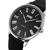 SKMEI® Men's Ultra Slim Dress Watch Japanese Quartz Water Resistant Cool Watch Unique Watch Fashion Watch