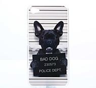 Dog Pattern TPU+IMD Soft Case for Lenovo S90