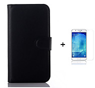PU Leather Wallet Flip Case For Samsung GalaxyS6 G9200 G920   + Screen Protector
