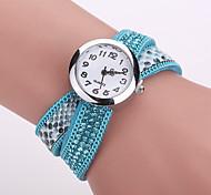 Xu™ Ladies' Fashion Serpentine Diamonds Bracelet Quartz Watch Cool Watches Unique Watches