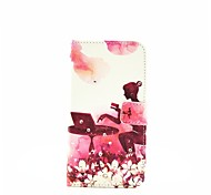 Office Girl Diamond Pattern Painted PU Phone Case for Galaxy A310/A510/A710/A9