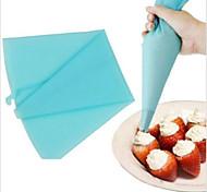 кондитерский мешок силикона 30см глазурь инструмент труб крем кондитерский мешок для украшения торта