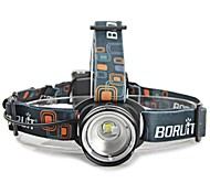 LS1789 4 Color 2000 Lumens 3-Mode XM-L T6 LED Headlamp AA Headlight Zoomable Head Lamp Light Lantern