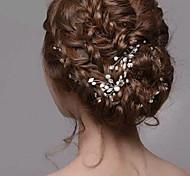 серебряный жемчуг женский горный хрусталь заколок для волос украшения для свадьбы