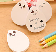 1PC Cute Cute Droplets N Post Post-It Note Pad Of Post