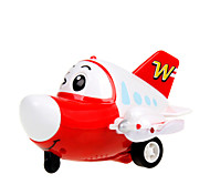 The Airport Diary Toy Cartoon Friction Car with Sound and Light for Kids Toys inc. Battery (Eyes will Turn Up and Down)