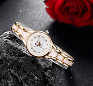 Women's Watch Fashionable Silver Alloy Bracelet