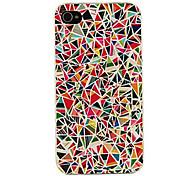 Назначение iPhone X iPhone 8 iPhone 8 Plus Кейс для iPhone 5 Чехлы панели С узором Задняя крышка Кейс для Геометрический рисунок Твердый