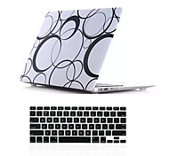 "New Plastic Full Body Hard Case Cover+Keyboard Cover for Macbook Air 11""Retina 13""/15"""