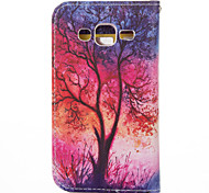 Shining Tree PU leather with Stand Case for Samsung G360