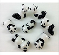 4 pcs Chopsticks Holder Ceramic Porcelain Cute Panada