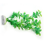 Green Artificial Plastic Water Plants for Fish Tank Aquarium Ornament