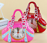 Handbag Shape Alarm Clock For Children Kids Bicycle Alarm Clock Home Art Decoration(Ramdon Color)
