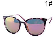 Sonnenbrillen mujeres's Elegant / Modern / Modisch Katzenauge Schwarz / Rot / Lila / Blau / Leopard Sonnenbrillen Vollrandfassung