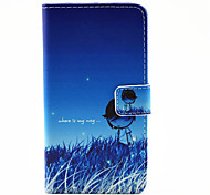 Night Sky Pattern PU Leather Full Body Cover with Stand for Samsung Galaxy A3100/A5100