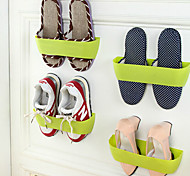 Simple Double Plastic Shoe Rack Shoe Rack