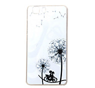 Romantic dandelion New Soft TPU Back Case Cover For DOOGEE X5 Mobile phone bags Cases