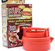 uk stufz farcito hamburger stampa hamburger barbecue grill patty produttore succosa come visto ONTV