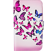 Butterfly Pattern Embossed PU Leather Case for Galaxy J5(2016)/ Galaxy Grand Prime/ Galaxy Grand Prime/ Galaxy J5
