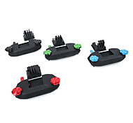 Strap Bag Mount Set For GoPro Cam Gopro Hero 4S/4/3+/3 Yi Sport Camera Black Blue Red Green