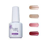 ILuve Gel Nail Polish Set - Pack Of 4 - Long Lasting 3 Weeks Soak Off UV Led Gel Varnish – For Nail Art #4012