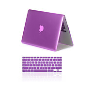 """2 in 1 mattem Metall Farbe Ganzkörper-Kastenabdeckung mit Tastaturabdeckung für MacBook Air 11 """"Pro 13"""" / 15 """""""