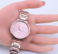 marque genève montres-bracelets en acier inoxydable montre analogique quartz hommes femmes dames de bonne qualité