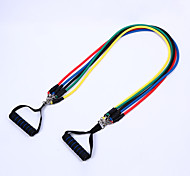 11 Sets Of Fitness Pull Rope Elastic Rope Pull Rope Fitness Latex Resistance Band