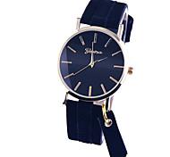 relógios de moda borla relógio das mulheres, relógio de Genebra, relógio de pulso de couro, relógio pendente, montres idéia do presente