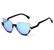 Women's 100% UV400 Wayfarer Fashion Diamond Mirrored sunglasses