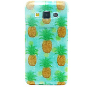 For Samsung Galaxy Case IMD / Pattern Case Back Cover Case Fruit TPU Samsung A5 / A3