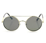 Sunglasses Men / Women / Unisex's Retro/Vintage / Modern / Fashion Round Silver / Gold Sunglasses Full-Rim