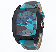 2016 New Arrival Unisex Camouflage Wristwatch With Special Square Watch Case Cool Watches Unique Watches