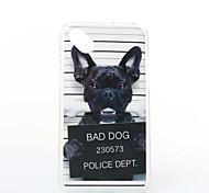 Dog Pattern TPU+IMD Soft Case for Wiko Sunset2