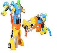 jouets pour enfants douce sécurité du robot masque de protection boîte clip cadeau balle de tir au pistolet