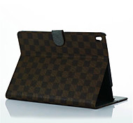 Newest Flip Cover Tartan Design leather Case Simple Pu Tablet Computer Protection Shell for ipad pro 9.7 Assorted Colors