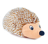Stuffed Squeaking Hedgehog Plush Toy for Dogs and Cats