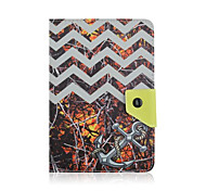Universal 7 Inch Tablet Case Waves Pattern PU Leather Cases With Stand  For 7.0 Inch Tablet
