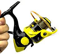 pequeños rodamientos de bolas fddl ® pesca en mar 12 + 1 5.2: 1 pesca wr1000 rueda carrete giratorio