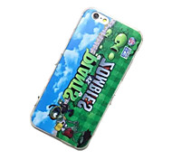 Plants V.S. Zombies Pattern TPU Material Phone Case for iPhone 6/6S