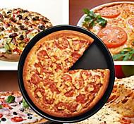 """bandeja nova 6 """"pizza antiaderente liga de alumínio pan torta de prato"""