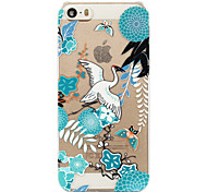 Chinese Landscape Painting Painted Pattern Hard Plastic Back Cove For iPhone5S/iPhoneSE 4.0""