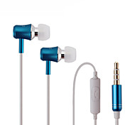 Running Sports Earphones in-Ear Headset Sound Isolating Headphone with Mic For Iphone xiaomi MP3 player Mobile Phones