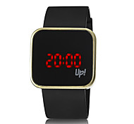 Unisex Fashion Watch The New Square LED Watches Silicone Electronic Touch Screen Metal Shell  (Assorted Colors) Cool Watches Unique Watches