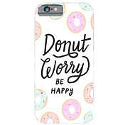 Personality in English Pattern PC Phone Case Hard Back Case Cover for iPhone5/5S