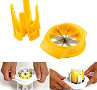 vendita calda di verdure pela taglio limone affettatrice wedger splitter creativi della cucina arancione strumenti gadget frutta verdura
