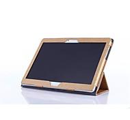 """para Huawei MediaPad m2-10 m2 caso del patrón de seda de acero de cuero de la PU de la piel de 10 """"Tablet PC m2-A10L"""
