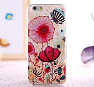 flores padrão de design de volta caso capa para o iPhone 6 mais iphone 6s mais