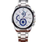 Montre hommes APEO de haute qualité en acier inoxydable étanche sprot quartz montre-bracelet montre homme